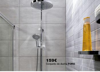 Conjunto de ducha FORO por sólo 159 €. en tu baño pasan cosas... Del 1 al 31 de marzo, ofertas especiales en DANIEL GARCÍA, SL. | Tu tienda GAMMA.