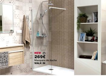 Mampara de ducha WALK IN por tan sólo 269 €. Plan Renova: Renueva tu zona de ducha. ¡Ahora con descuentos de hasta 350€! Del 1 al 31 de mayo, ofertas especiales en DANIEL GARCÍA, SL. | Tu tienda GAMMA.