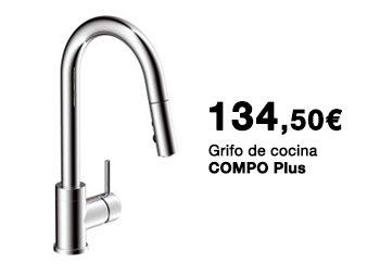 Grifo de cocina COMPO Plus. 134,50 €.  Disponible en DANIEL GARCÍA, SL. | Tu tienda GAMMA