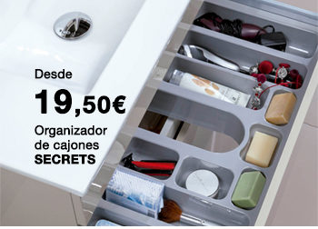 Organizador de cajones SECRETS. Desde 19,50 €.  Disponible en DANIEL GARCÍA, SL. | Tu tienda GAMMA