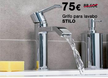 Grifo para lavabo STILO. 75 €. Del 1 al 31 de julio de 2019, en DANIEL GARCÍA, SL. | Tu tienda GAMMA