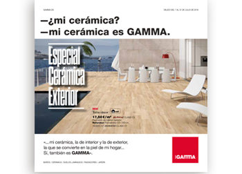 -¿mi cerámica? -mi cerámica es GAMMA.  Del 1 al 31 de julio de 2019, en DANIEL GARCÍA, SL. | Tu tienda GAMMA