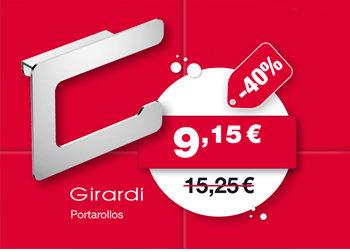 Portarrollos, de Girardi. 9,15 €. ANTES: 15,25 €.